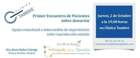 I Encuentro con pacientes sobre donación de ovocitos